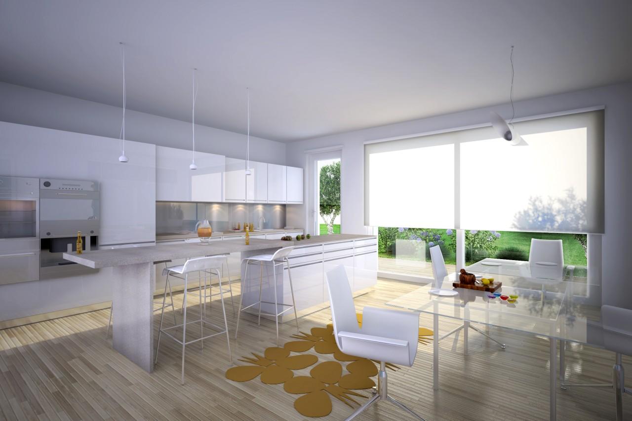Best cucina con vetrata images home interior ideas - Cucine con vetrate ...