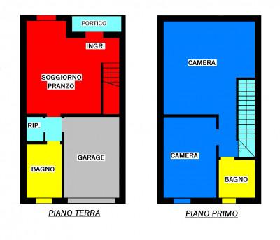 Casa a schiera in vendita a Villanova di Camposampiero