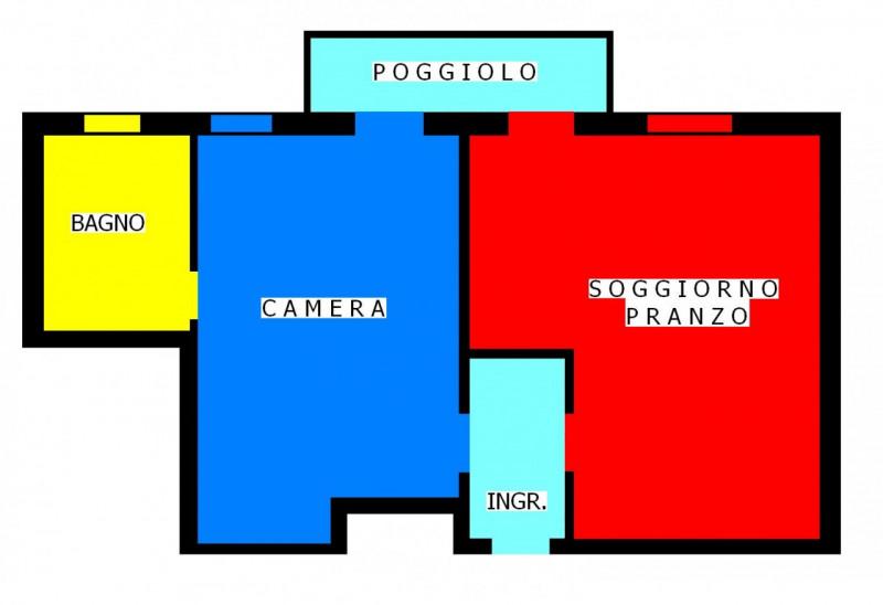 Bilocale Padova Chiesanuova 2