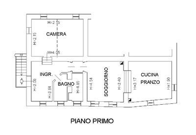 Bilocale Urbino Via Sant'egidio 3