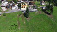 Terreno di 1030 mq in vendita a San Tomaso Agordino fronte Civetta