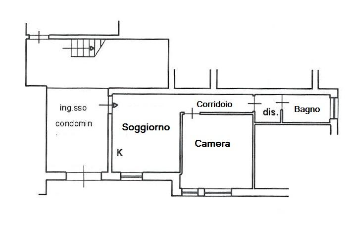 Bilocale Grosseto Via Silvio Pellico 10