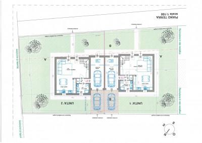 Bifamiliare di nuova costruzione in zona residenziale .