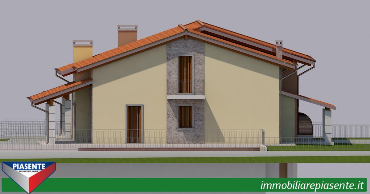 Villa bifamigliare in vendita a monteforte d 39 alpone for Piani casa 3 camere da letto e garage doppio