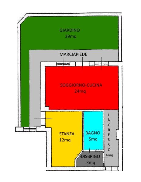 Bilocale Mezzocorona Mezzocorona, Via Romana 10