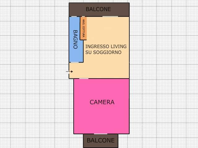 Bilocale Torino Via Mombasiglio 31 8