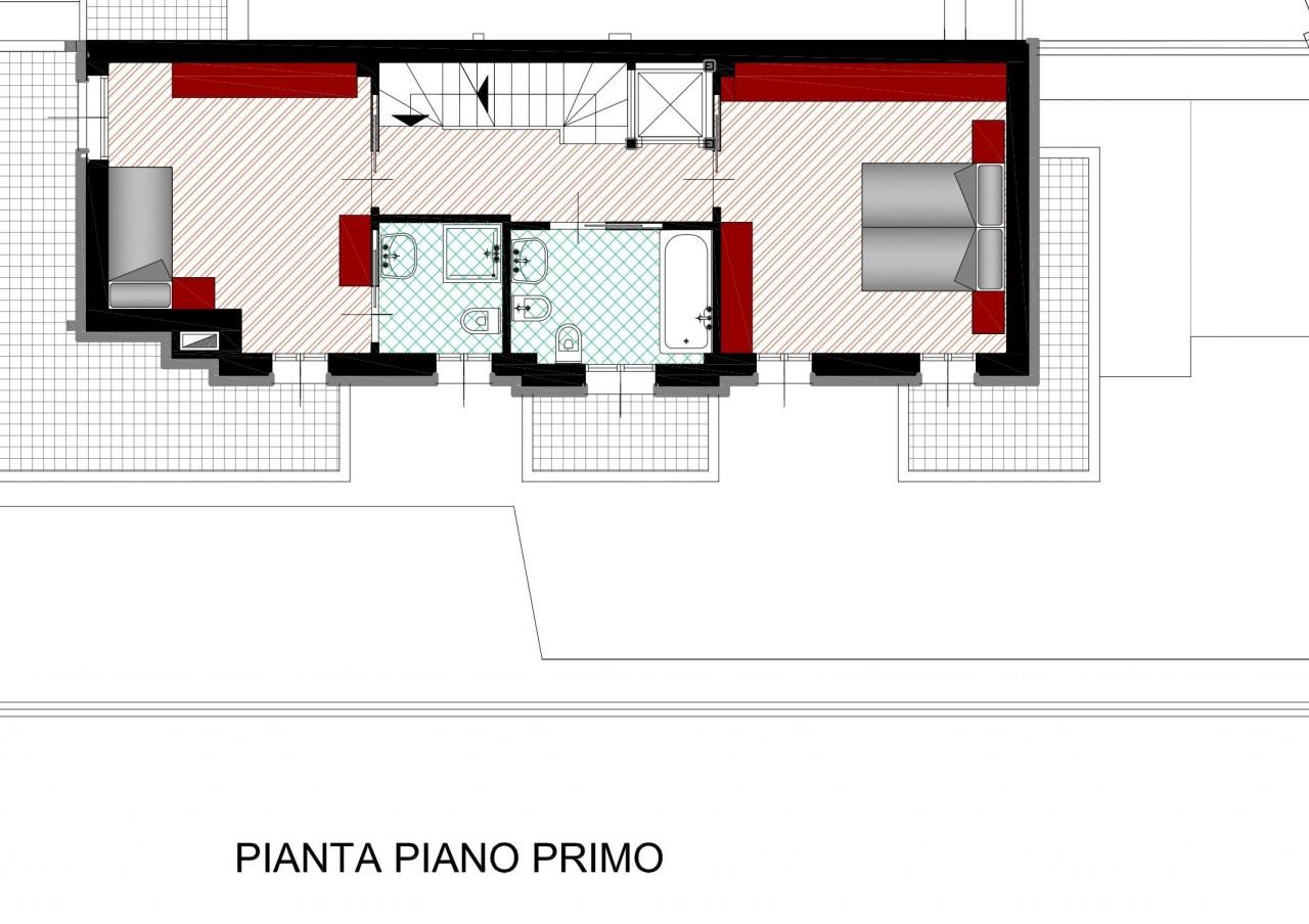 Savonarola nuova trifamiliare con giardino in classe a for Finito piano piano interruzione sciopero piani