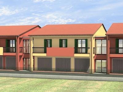 Pozzonovo - appartamento con  giardino