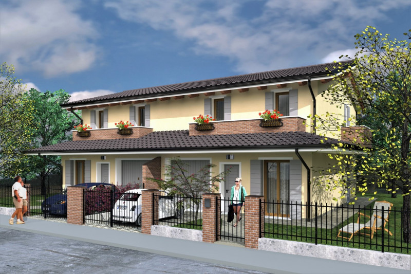 vendita villa bifamiliare rovigo borsea via savonarola 179000 euro  4 locali  150 mq
