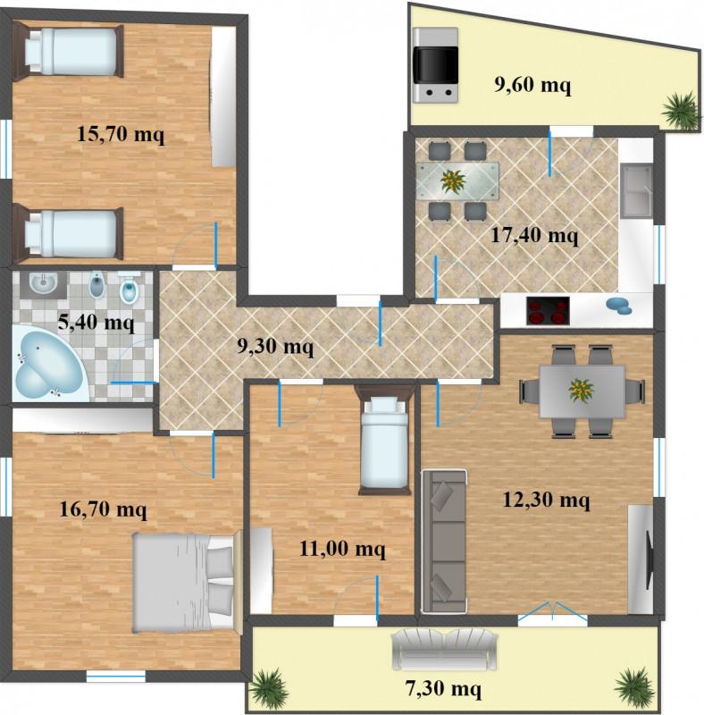 Appartamento in Vendita a Mezzolombardo (Trento) - Rif: Z070
