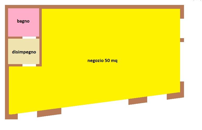 negozio posizione di passagio pedonoale - TREVISO CENTRO STORICO