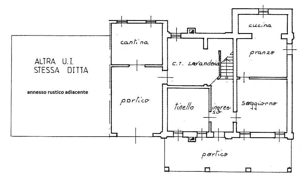 casa singola con annesso rustico + capannone + 21000 mq terreno agricolo