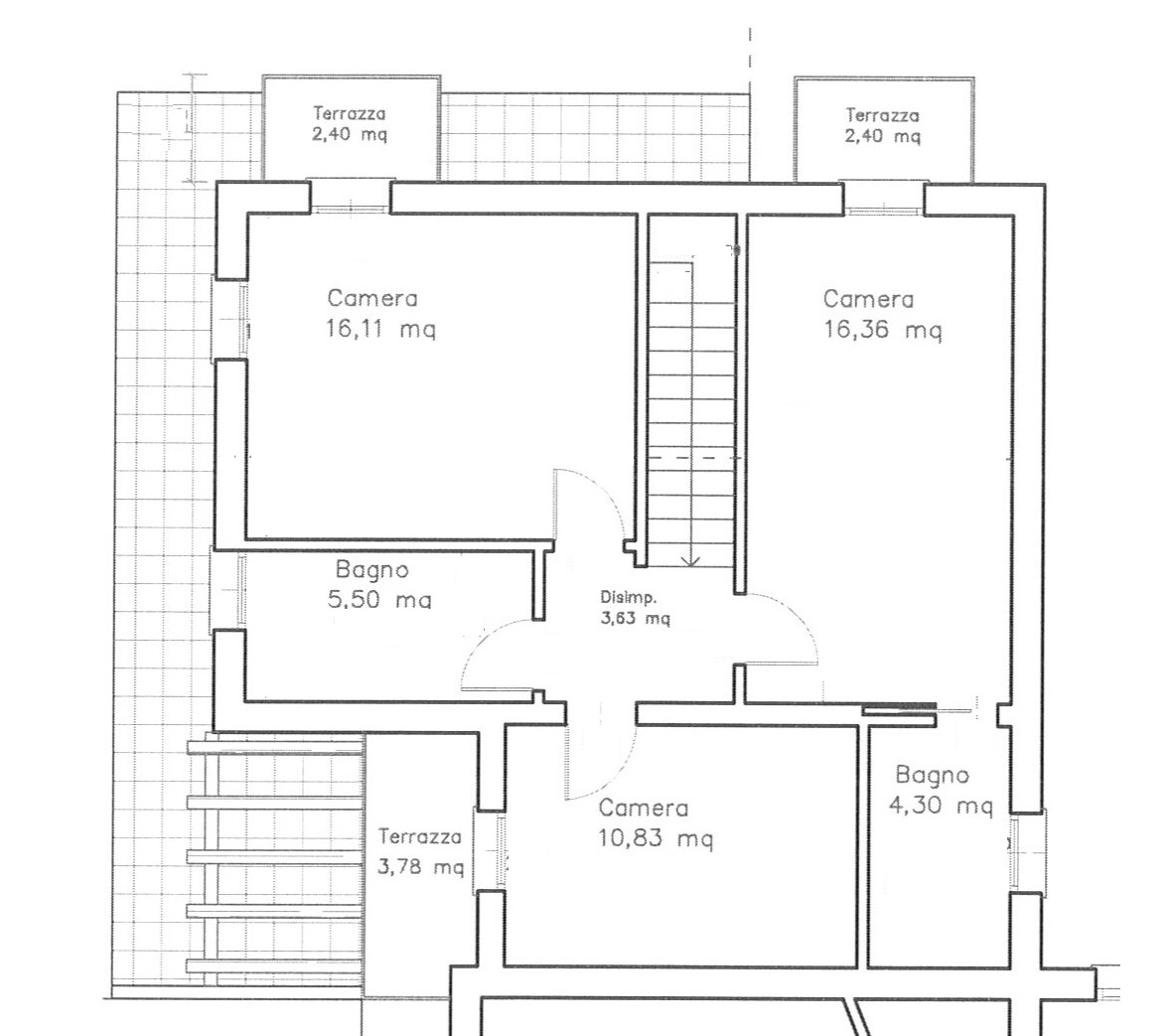 Bifamiliare 3 camere - giardino 200 mq -  SANTANDRA' DI POVEGLIANO (TV)