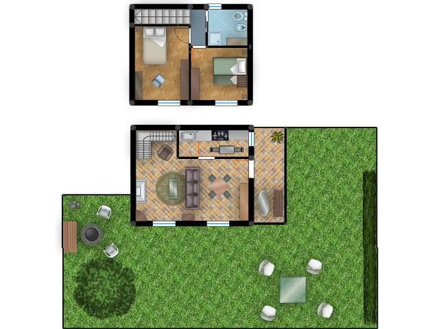 Casa Indipendente in ottime condizioni arredato in vendita Rif. 4065843