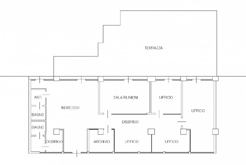 UFFICIO DI PREGIO IN AFFITTO - https://media.gestionaleimmobiliare.it/foto/annunci/150410/818500/800x800/pianta.jpg