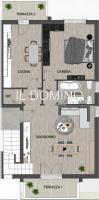 Terranegra, appartamento con cucina e mansarda