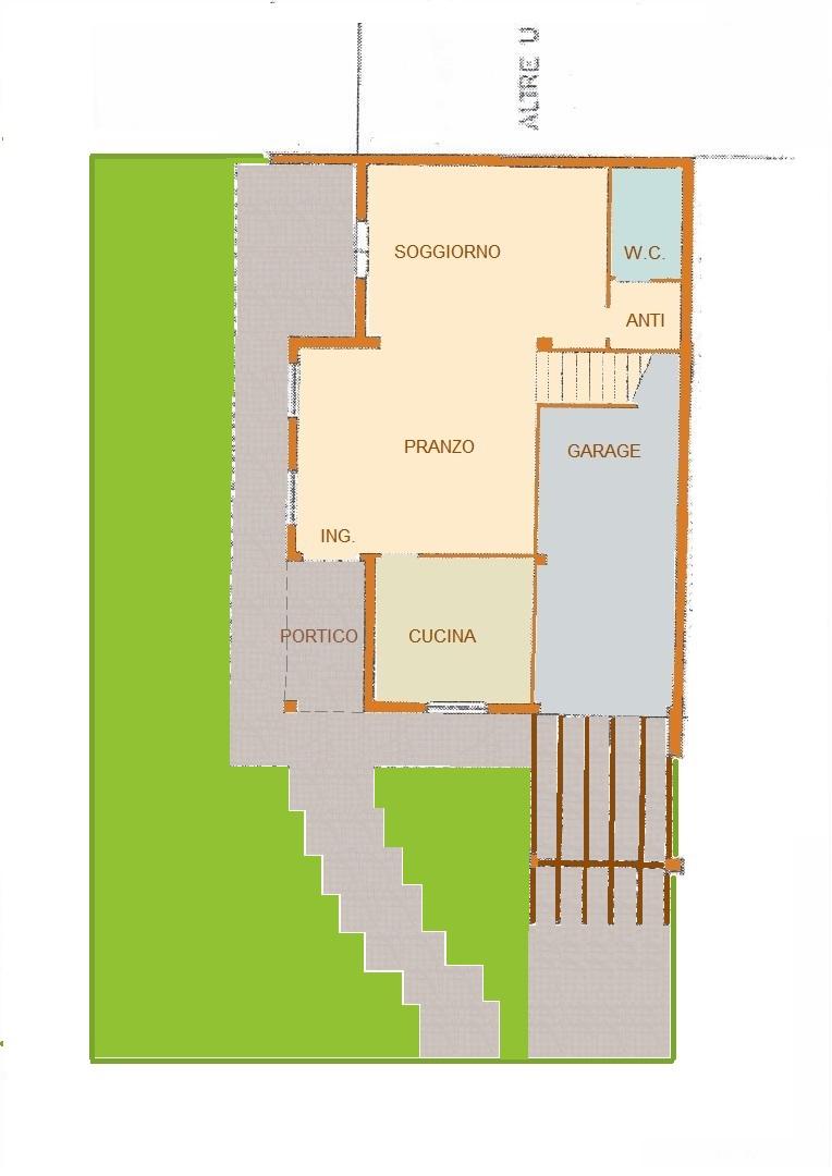 Porzione di quadrifamiliare a Monteortone Array