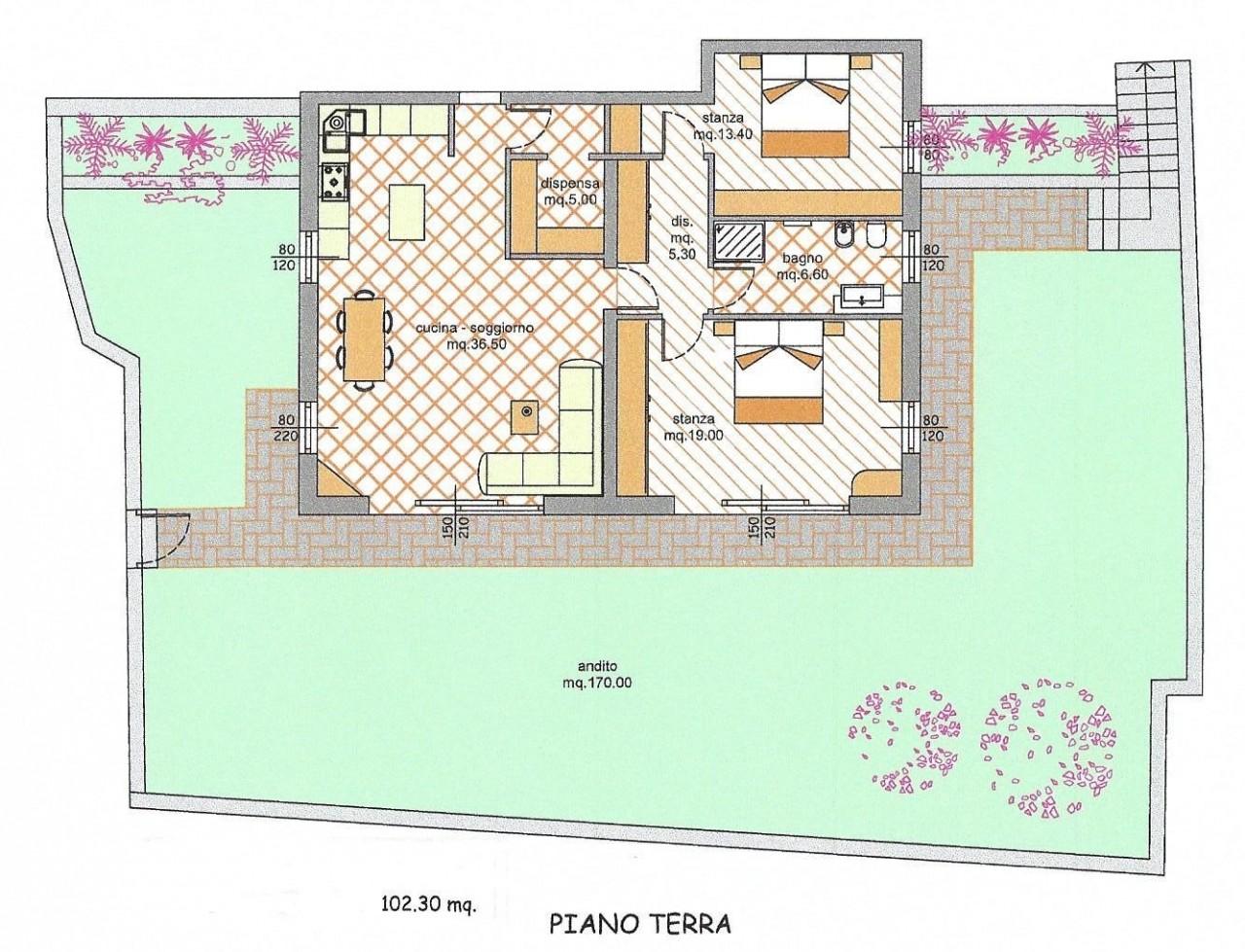 Appartamento in vendita a Commezzadura