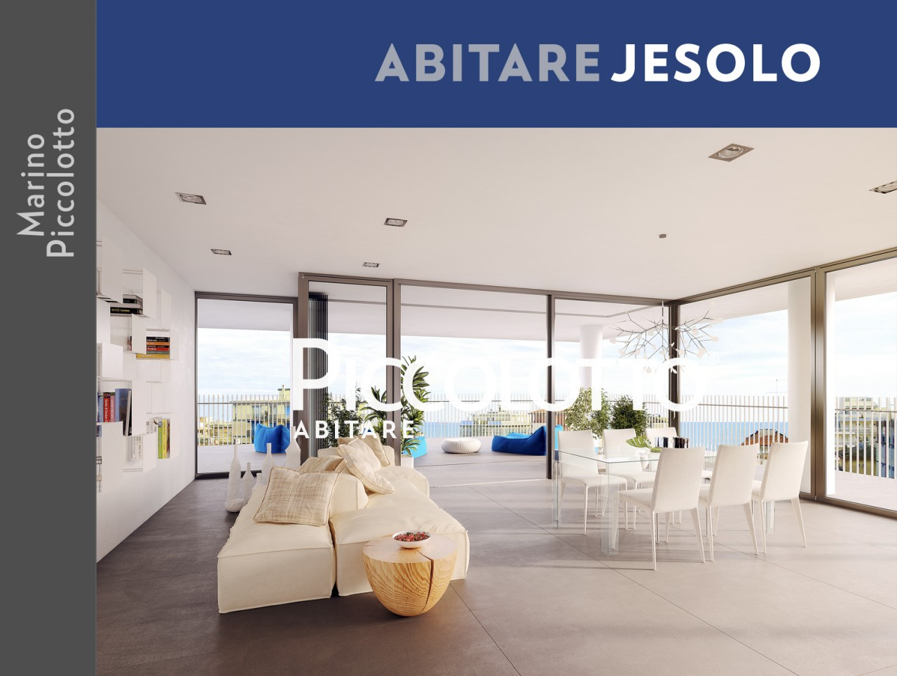 Jesolo - Venice - New Flat with terrace - Central position