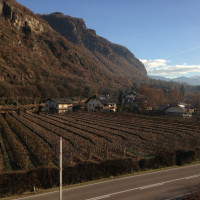 Bolzano: casa a schiera con giardino e terrazza sul tetto.