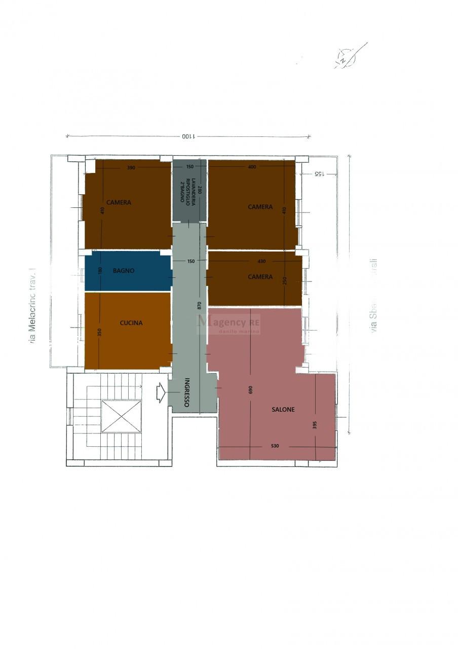 Ampio appartamento Sbarre Centrali
