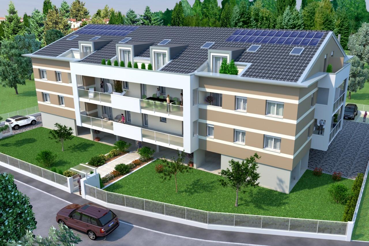 Paltana - Appartamento nuova costruzione con mansarda