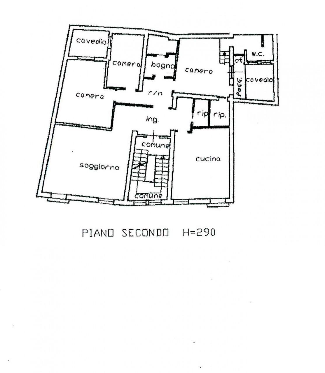 piazze appartamento con tre camere