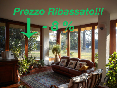 Villa Contemporanea con giargino di 4000 mq. a Noventa Padovana