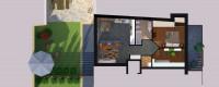 Pianizza di Sopra, trilocale con giardino, nuova costruzione
