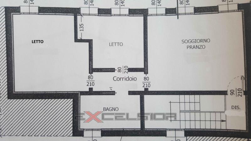 Trilocale arredato in affitto Rif. 7105154