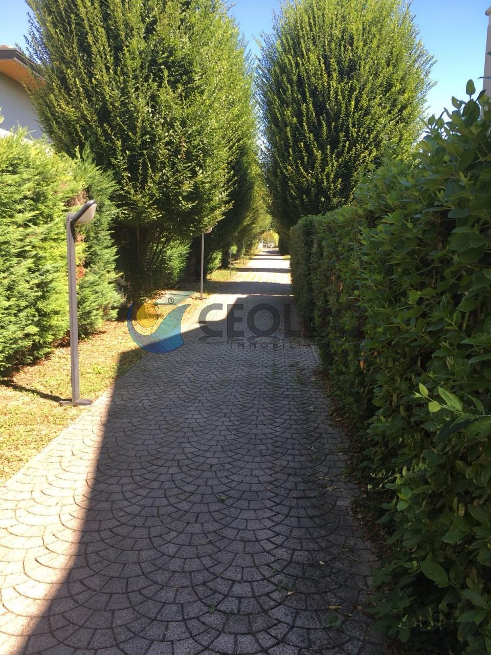 Trilocale con giardino Limena Centro