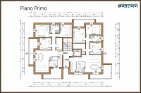 Castelfranco Veneto - Appartamento tre camere al piano primo con terrazze