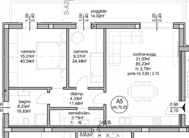 Appartamento in vendita Rif. 8077599
