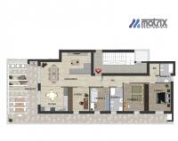 Attico Albignasego zona centrale €. 345.000  4 camere terrazzo 65 vista Colli