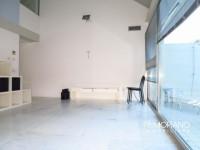 Prestigioso attico con terrazza e garage doppio