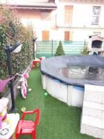 affare: trilocale su due livelli indipendente in residence con giardino e box doppio