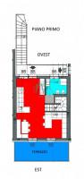 Cunevo, appartamento su due piani con garage e cantina