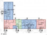 Immobile così suddiviso: mq 828 ca. al 1° piano, mq 1.020 ca. al 2° piano e mq 1.332 ca. al 3° piano