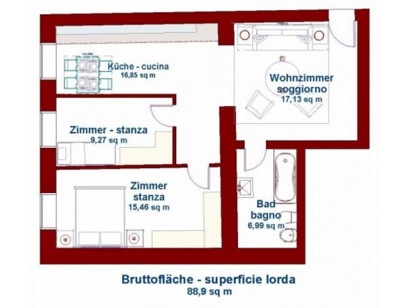Appartamento in buone condizioni in vendita Rif. 10530361