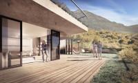 Nuovo trilocale con ampio terrazzo e giardino con bella vista sulla valle