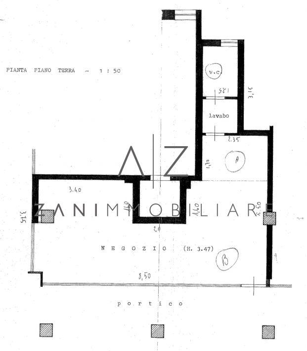 Negozio / Studio / Ufficio in Affitto a Castelfranco Veneto