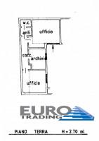 PREGANZIOL: Affittasi negozio ad uso ufficio al piano terra di circa 60 mq
