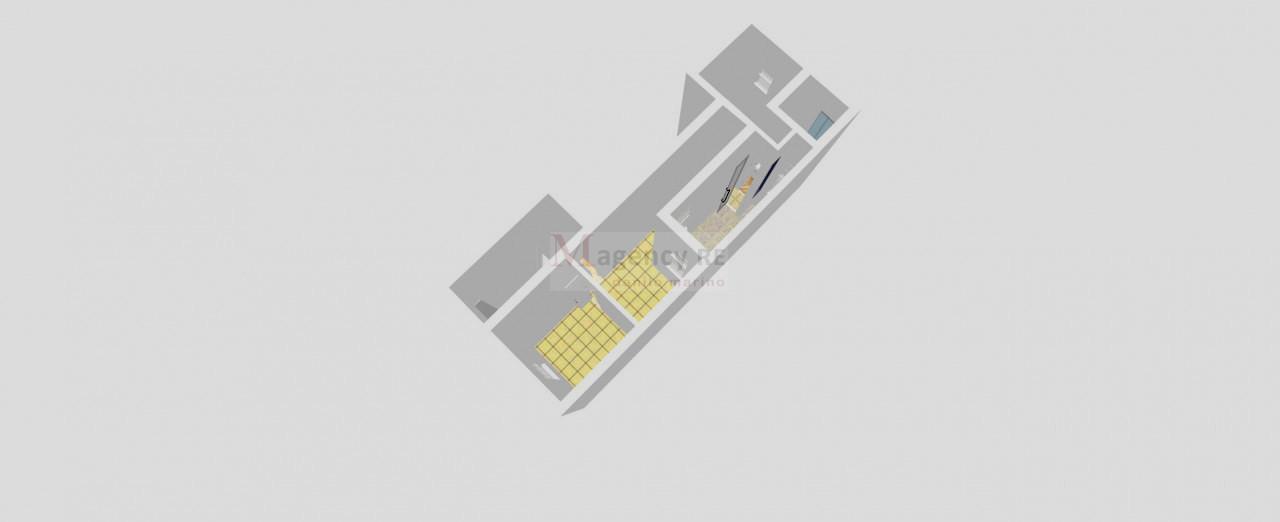 Appartamento con cortile ristrutturato adiacenze Viale Calabria