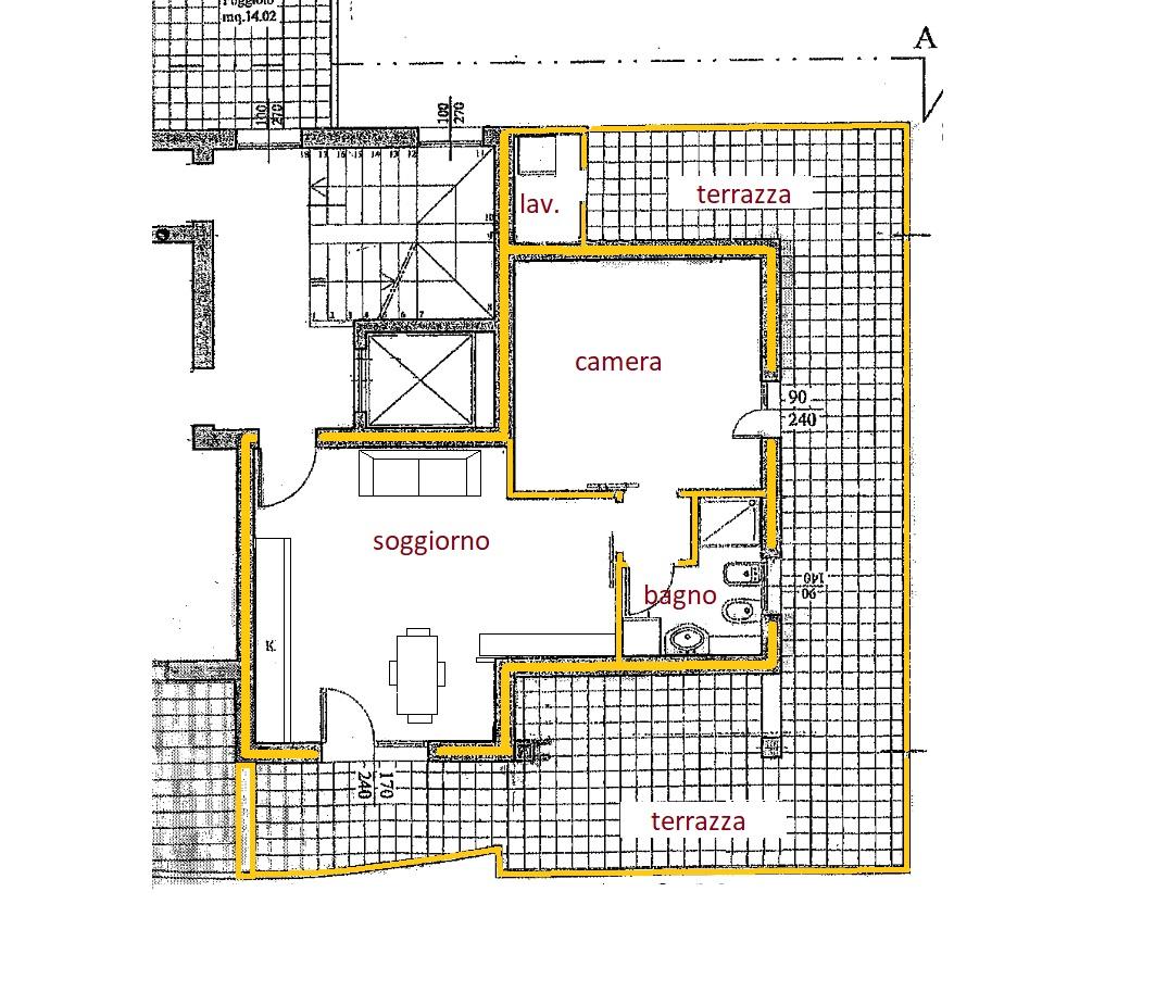 D293 Mini appartamento arredato in affitto in centro ad Abano Terme Array