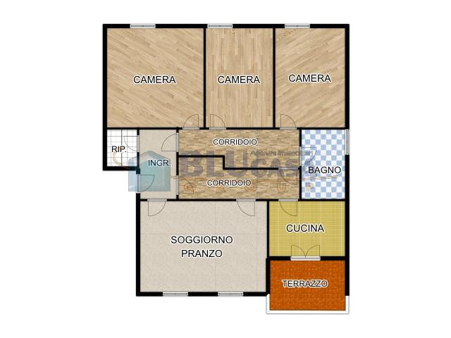 L499 Spazioso Appartamento tricamere in vendita ad Abano Terme Array