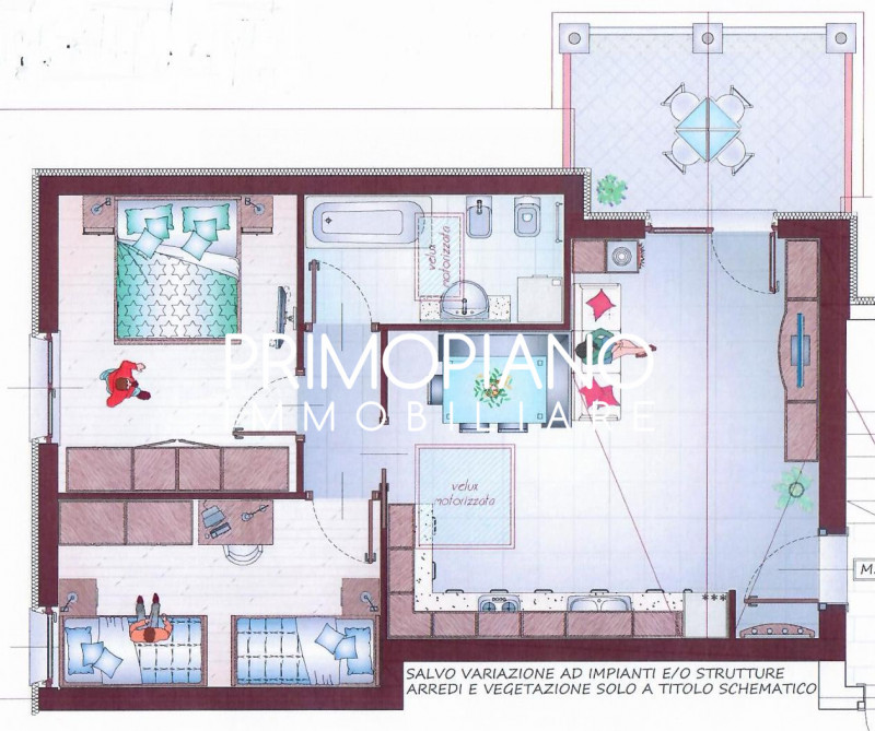 Appartamento in vendita a Calliano, 3 locali, zona Località: Calliano, prezzo € 200.000   CambioCasa.it